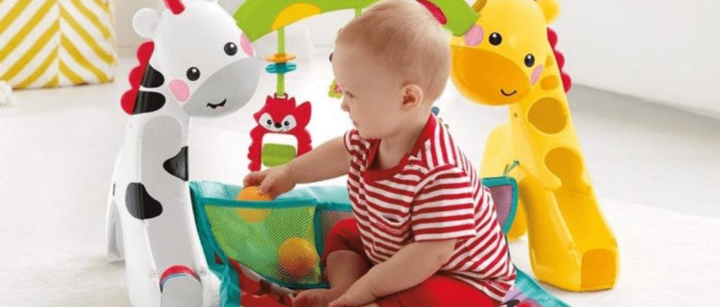 Los mejores juguetes para bebés de 6 a 8 meses