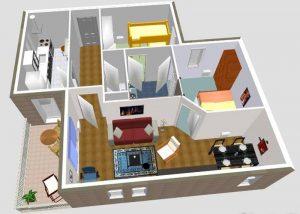 Sweet Home 3D diseño de una casa