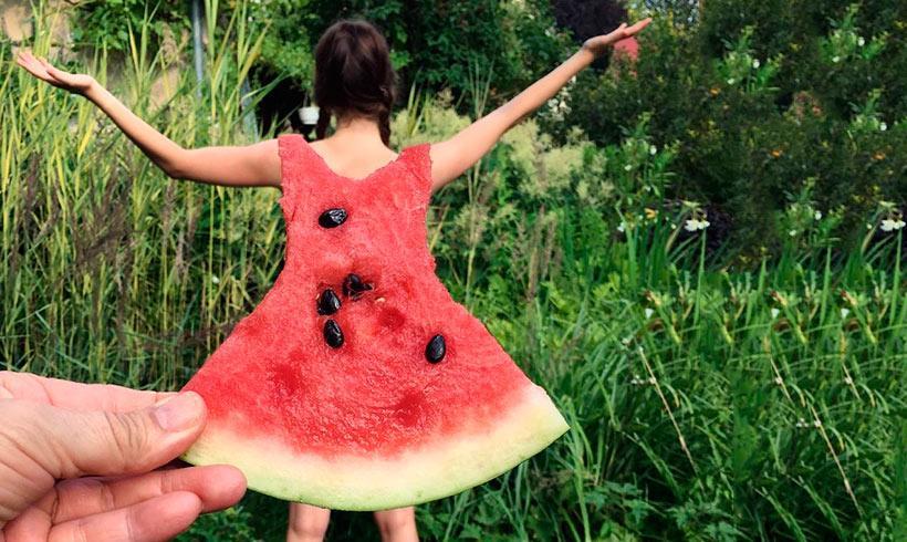 El nuevo reto del 'vestido sandía' en Instagram