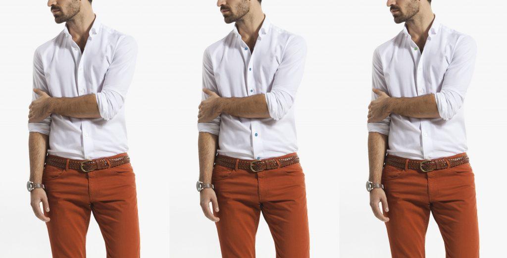 2 versiones de camisas blancas ideales para tu cuerpo prueba