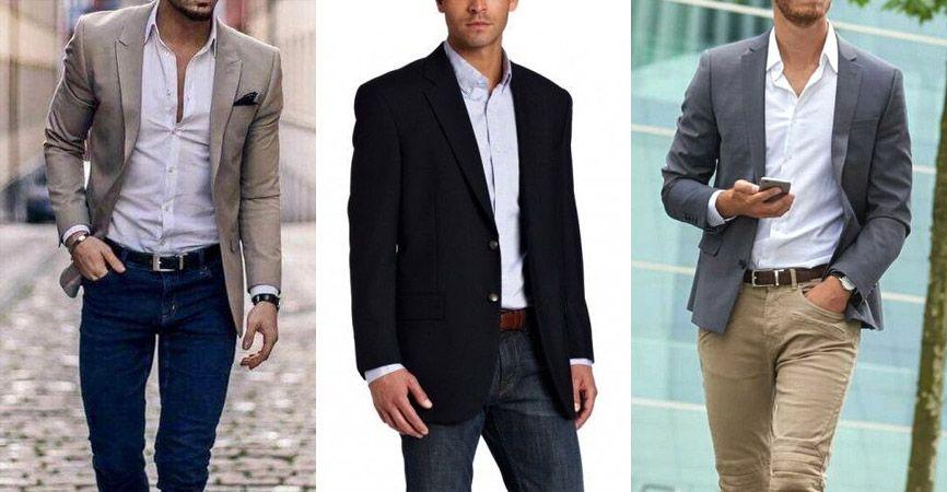 Cómo usar un saco de vestir como blazer