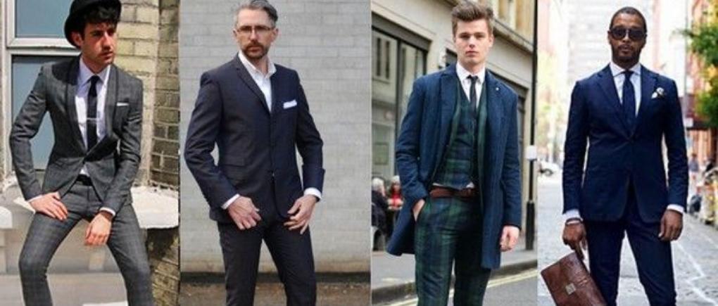 Hombres con ropa formal