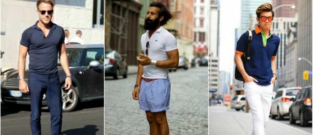 Increíbles maneras de usar una camisa polo