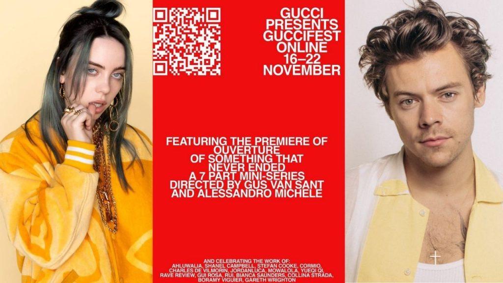 Poster del GucciFest 2020
