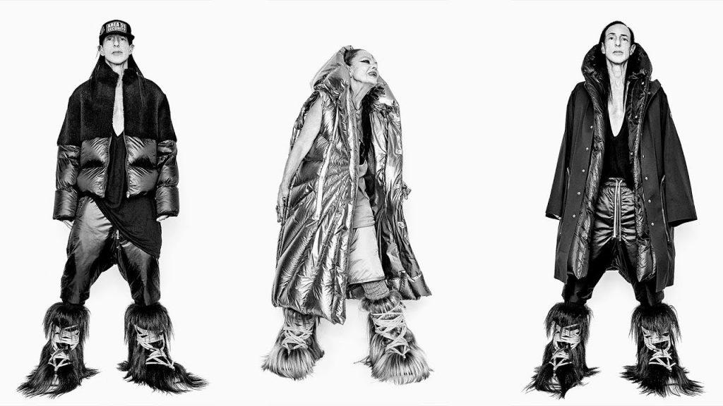 Rick Owens + Moncler reinventan el abrigo hinchado