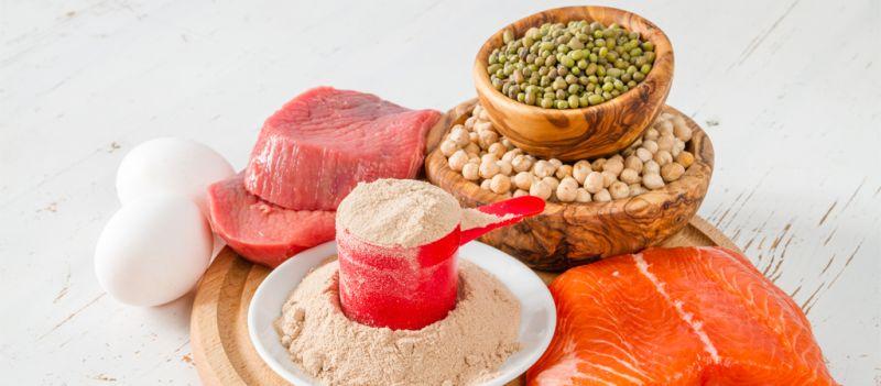 Fuentes de proteínas paleo que no son carne